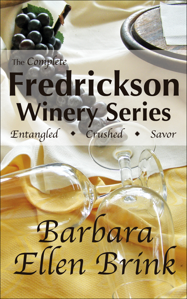 The Fredrickson Winery Novels (3 Book Set)