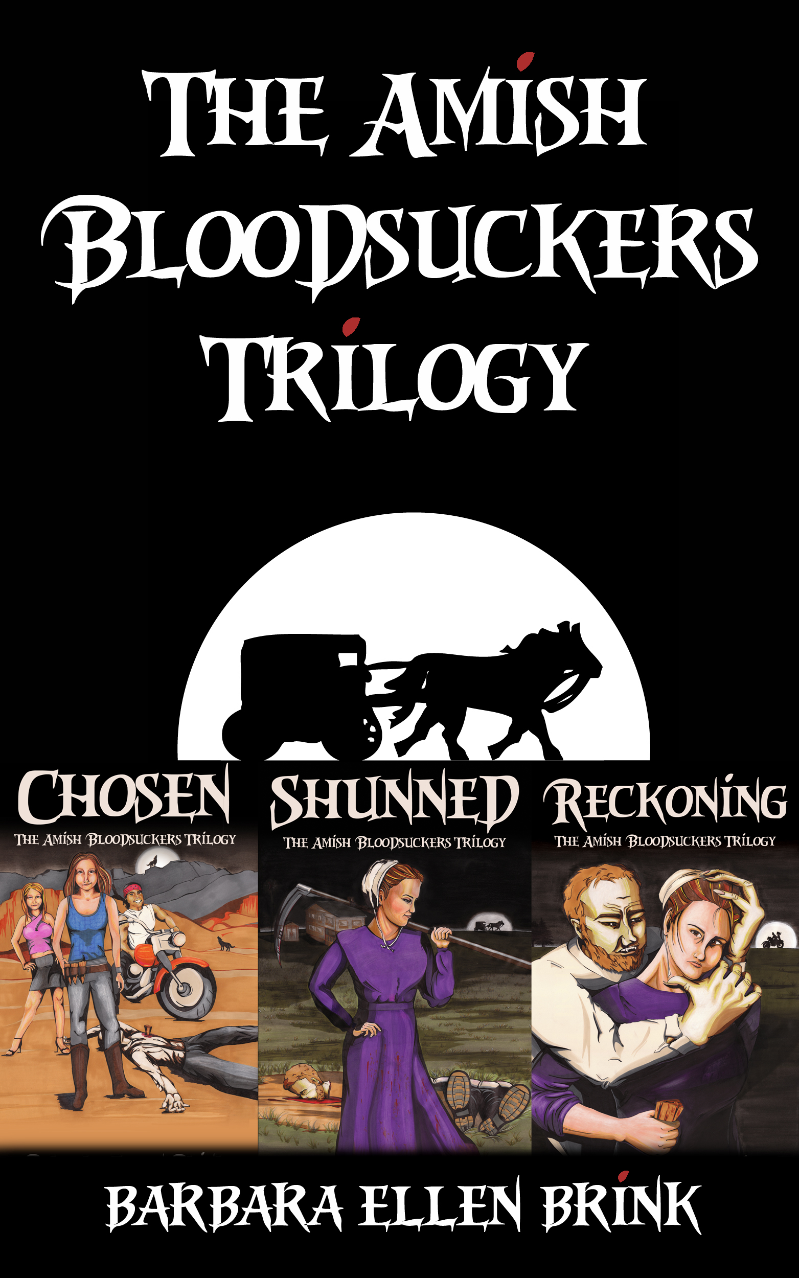 The Amish Bloodsuckers Trilogy (Boxed Set)